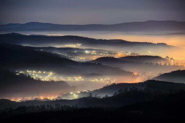 Sűrű köd veszélyére hívták fel a figyelmet