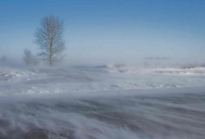 Lezártak három utat hóátfúvás miatt Vas megyében