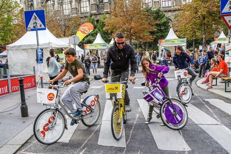 Bécs Streetlife-fesztivállal ünnepli az Európai Mobilitási Hetet