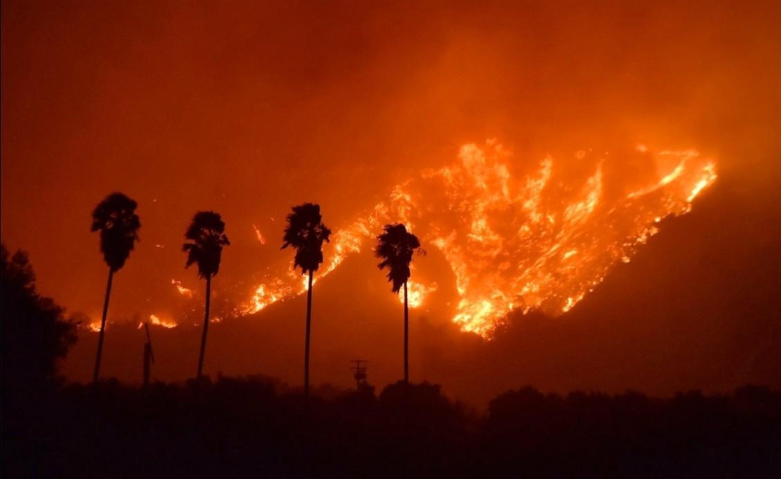Tűzvész Kaliforniában: a Nemzetközi Űrállomásról is látható a füst