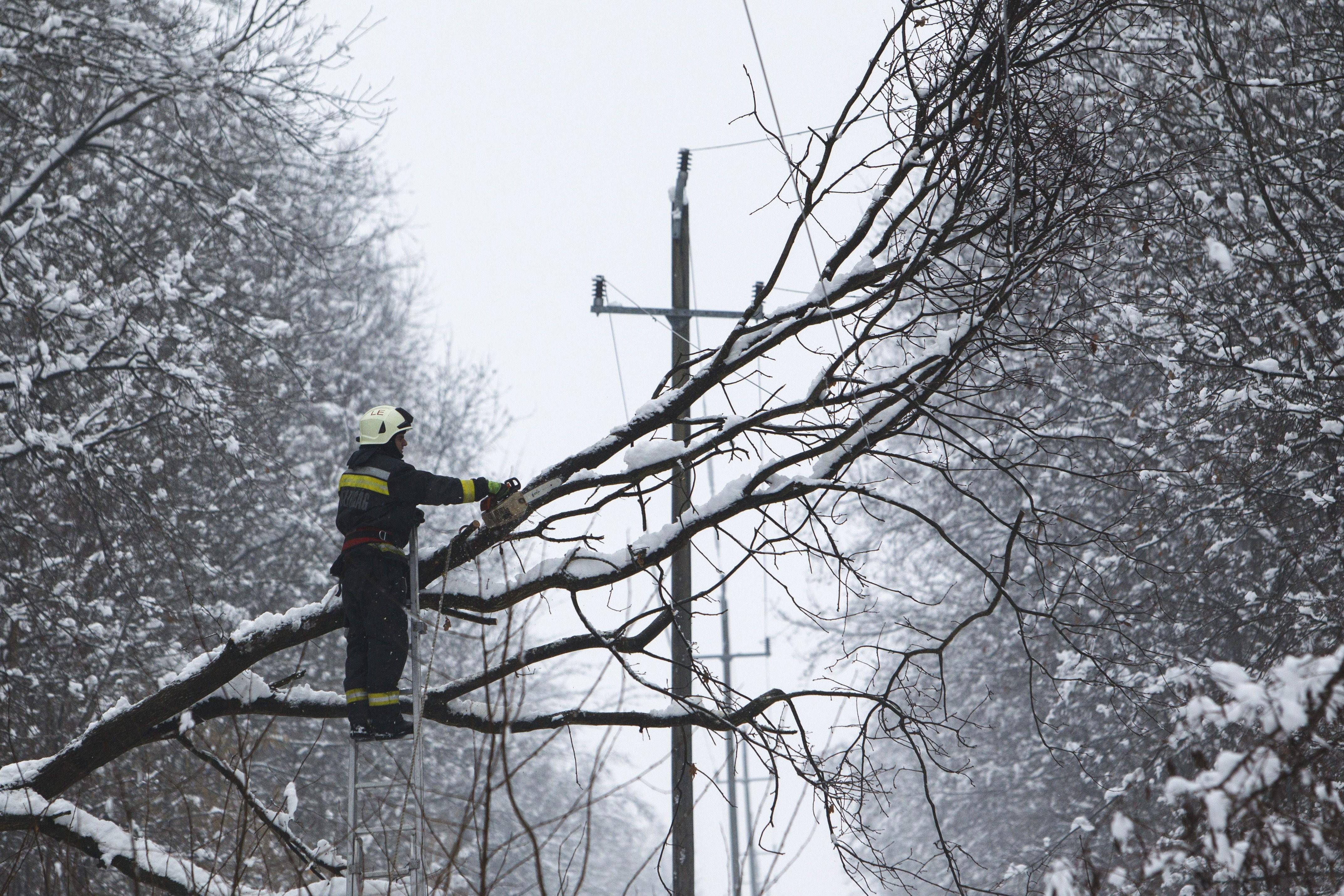 Helyreállt az áramszolgáltatás Zala és Vas megyében