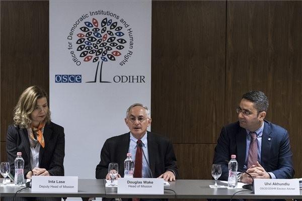 Választás 2018 - Már itt vannak az EBESZ megfigyelői