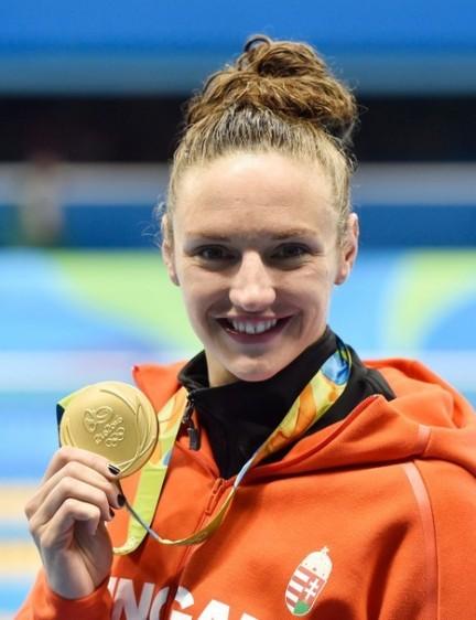Hosszú Katinka háromszoros olimpiai bajnok úszó