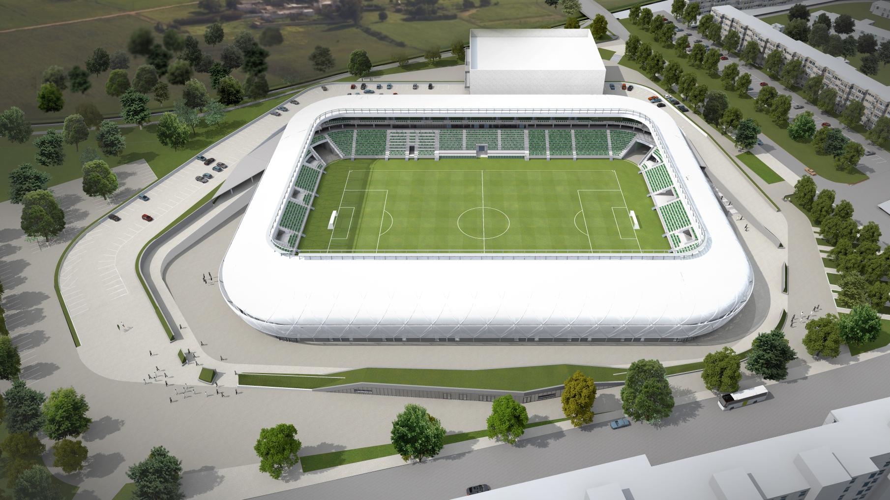 Péntektől lehet jegyet venni az új szombathelyi stadion nyitóünnepségére