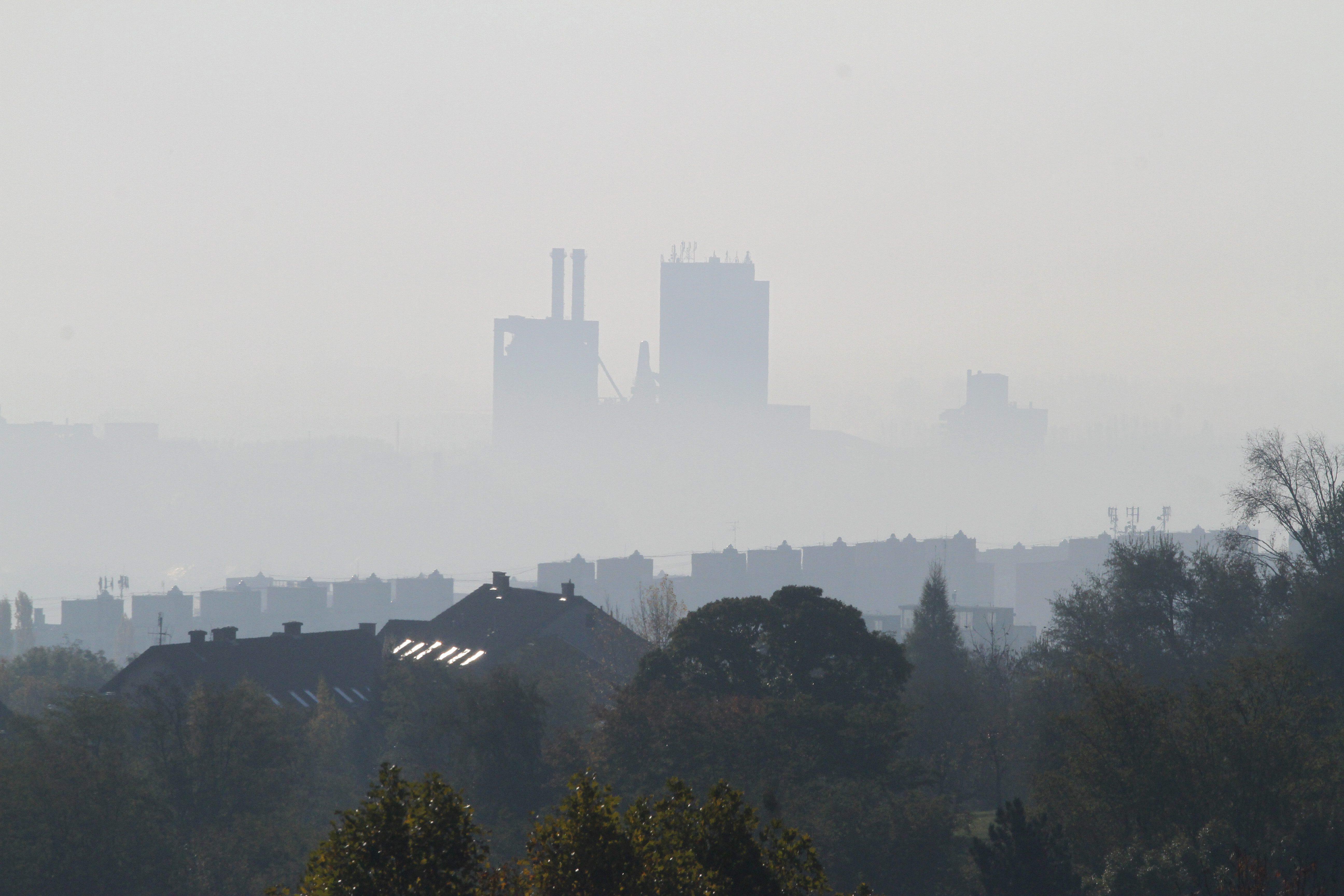 Szmog - Egészségtelen a levegő minősége hét településen