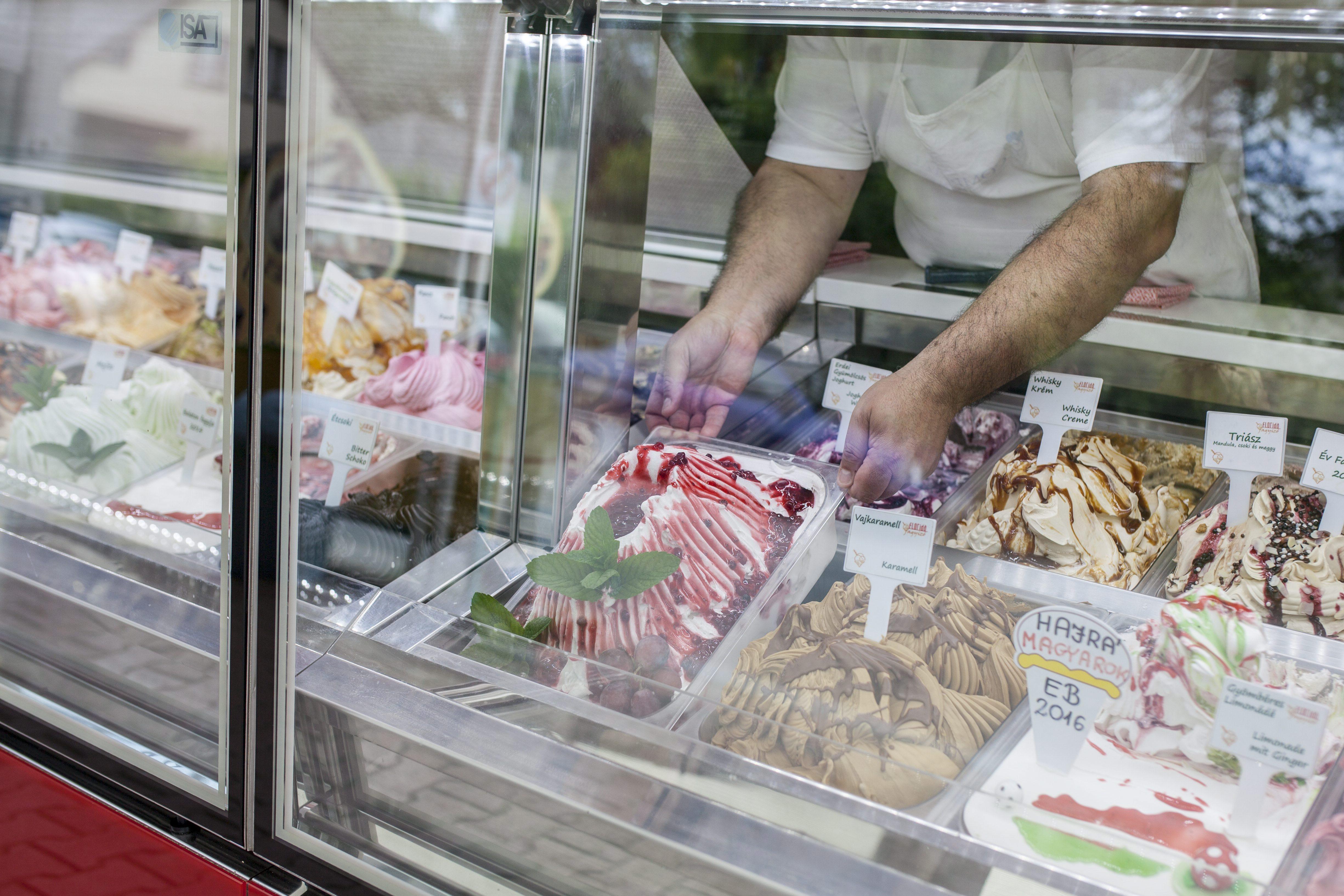 Az olaszok gyártják a legtöbb fagyit
