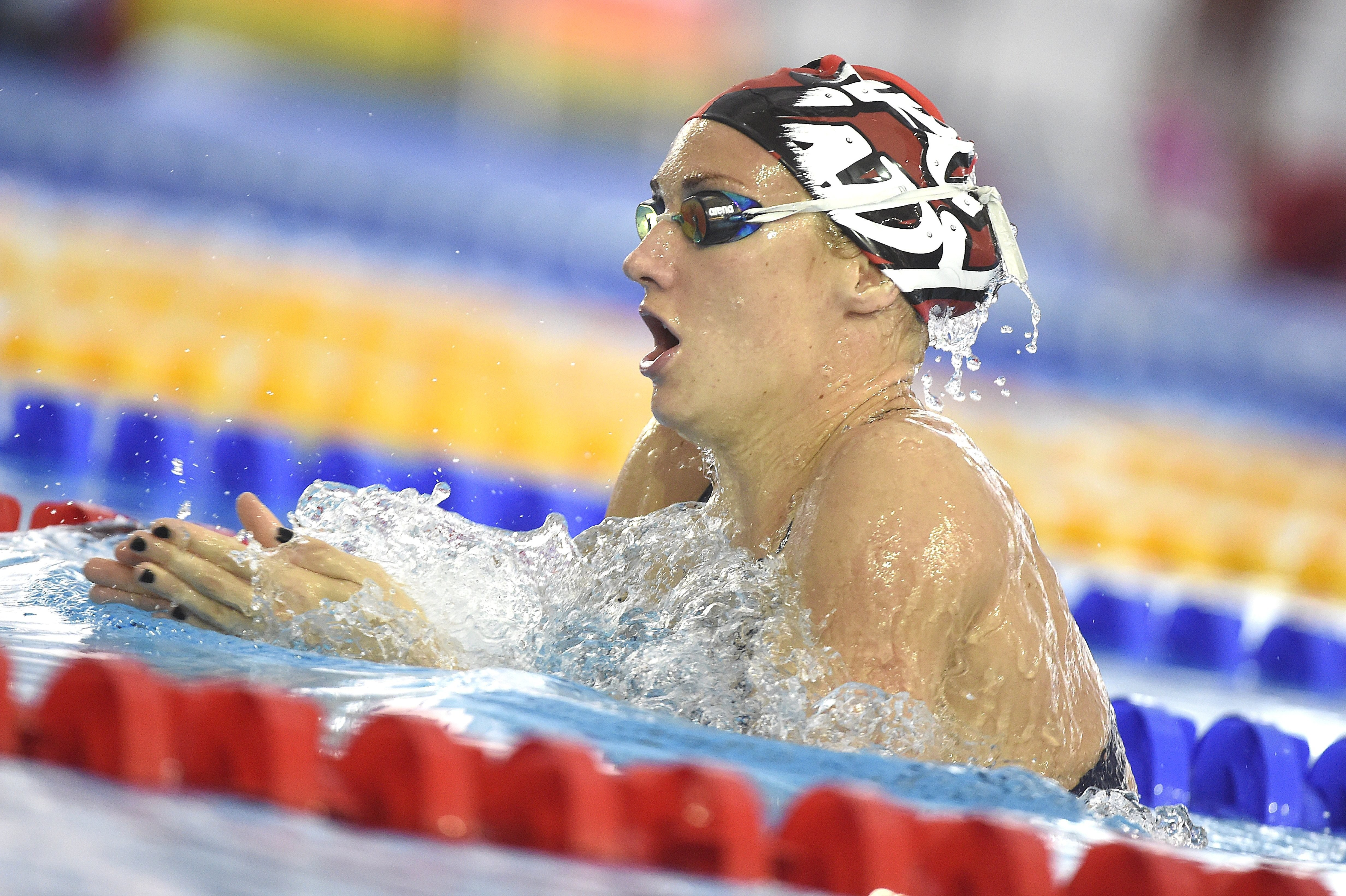 Rövidpályás úszó vk - Hosszú Katinka arany- és ezüstérmet szerzett Pekingben