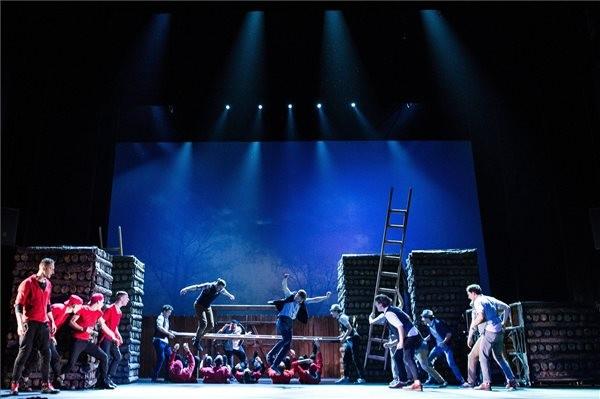 A Pál utcai fiúk musical a Vígszínházban