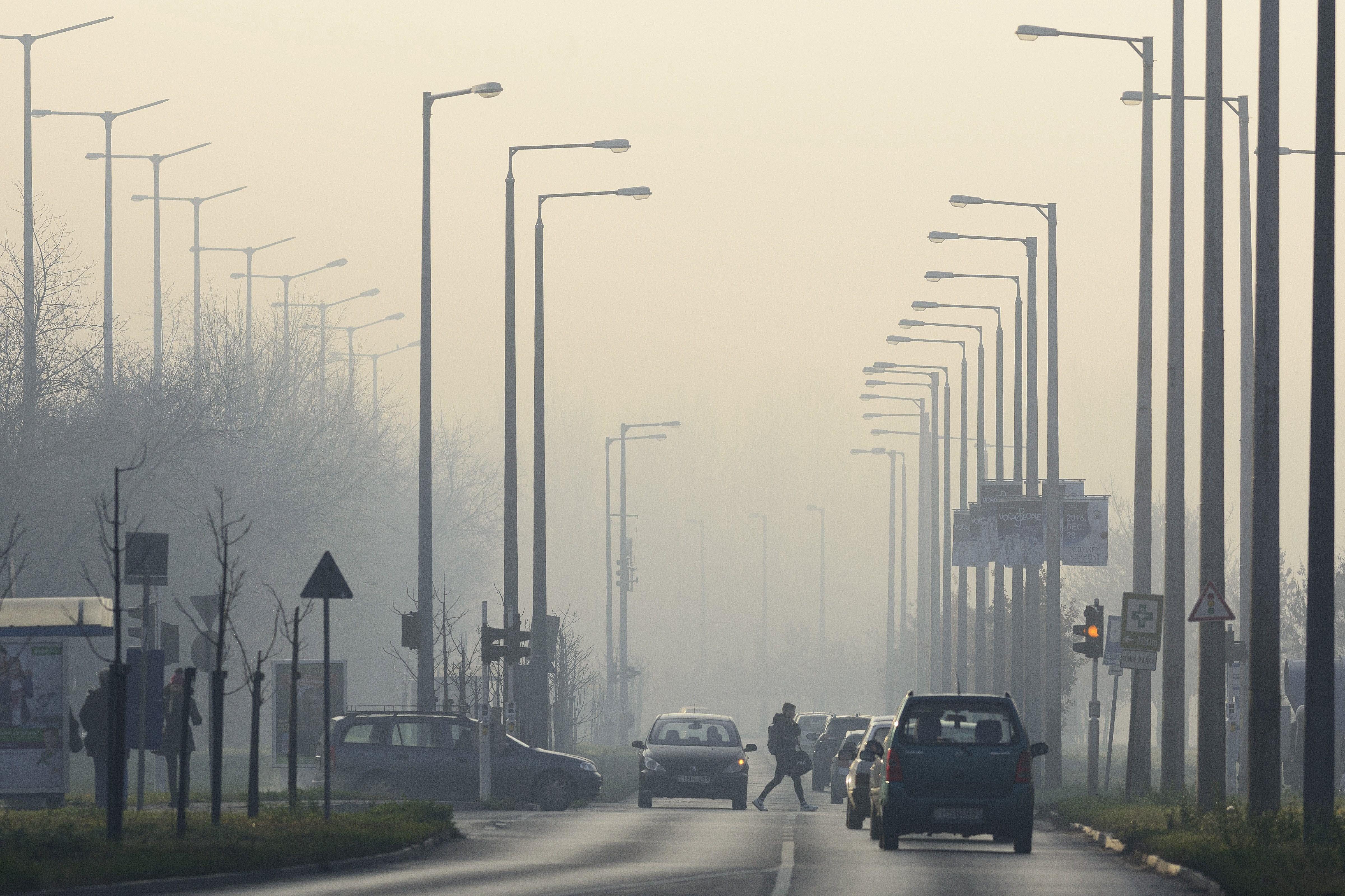 Kifogásolt a levegő ebben a négy városban