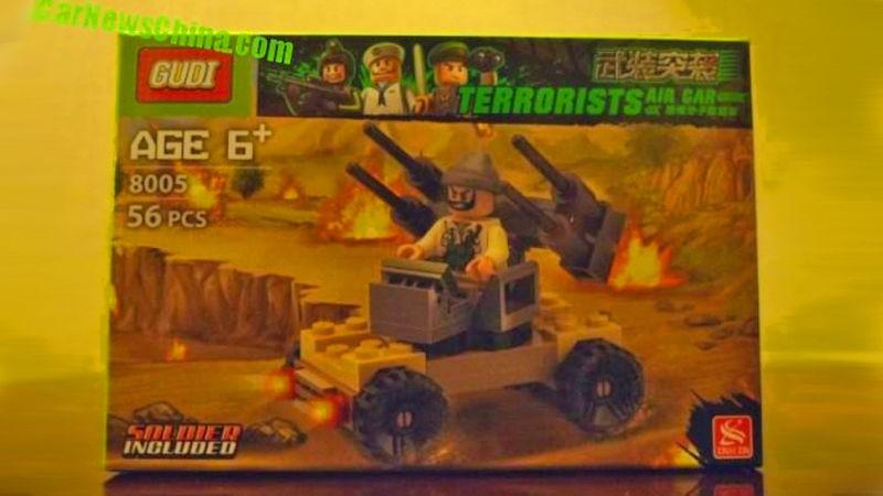 Terroristás Lego másolatot forgalmaz egy cég