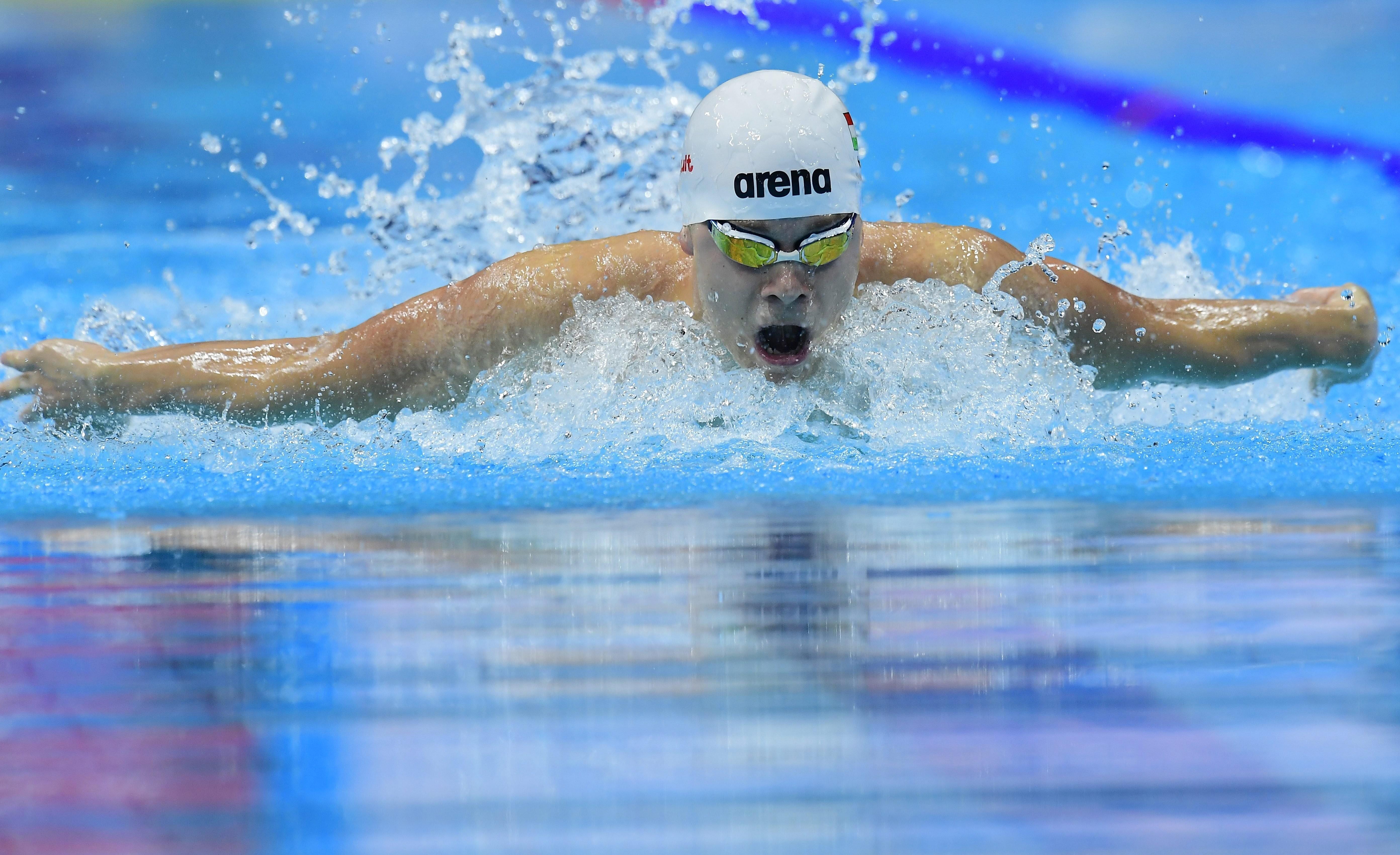 Úszó Eb -  Eredmények 100 méter pillangón