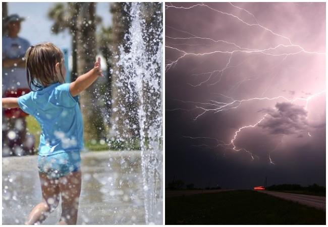 Felhőszakadás és hőség - Péntekre kiadták a figyelmeztetést, csak ez a négy megye ússza meg