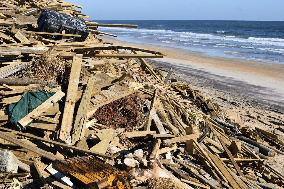 A földdel tette egyenlővé a vihar a házak 90 százalékát