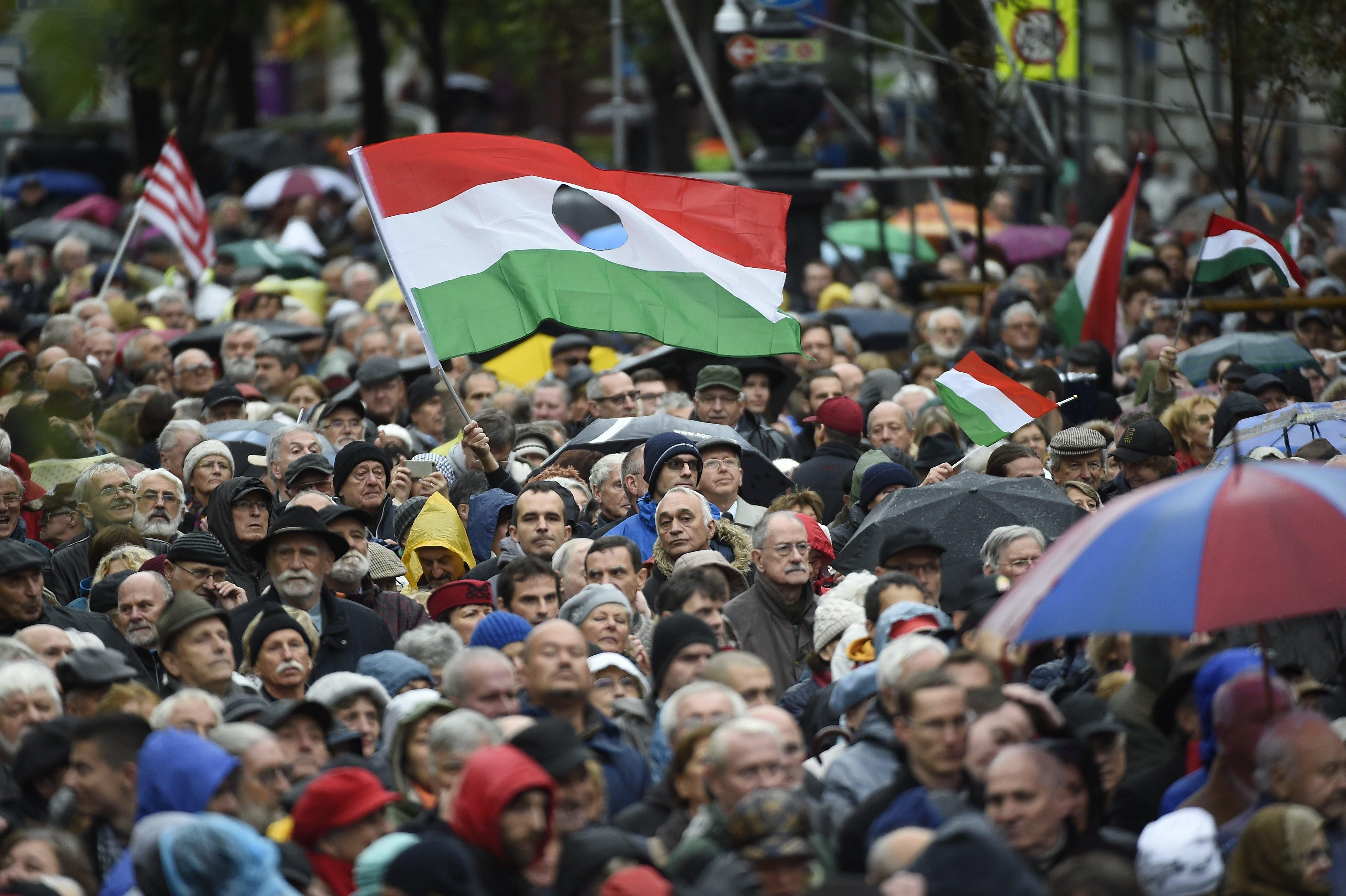 Október 23. - Így emlékeztek meg országszerte az 1956-os forradalomról