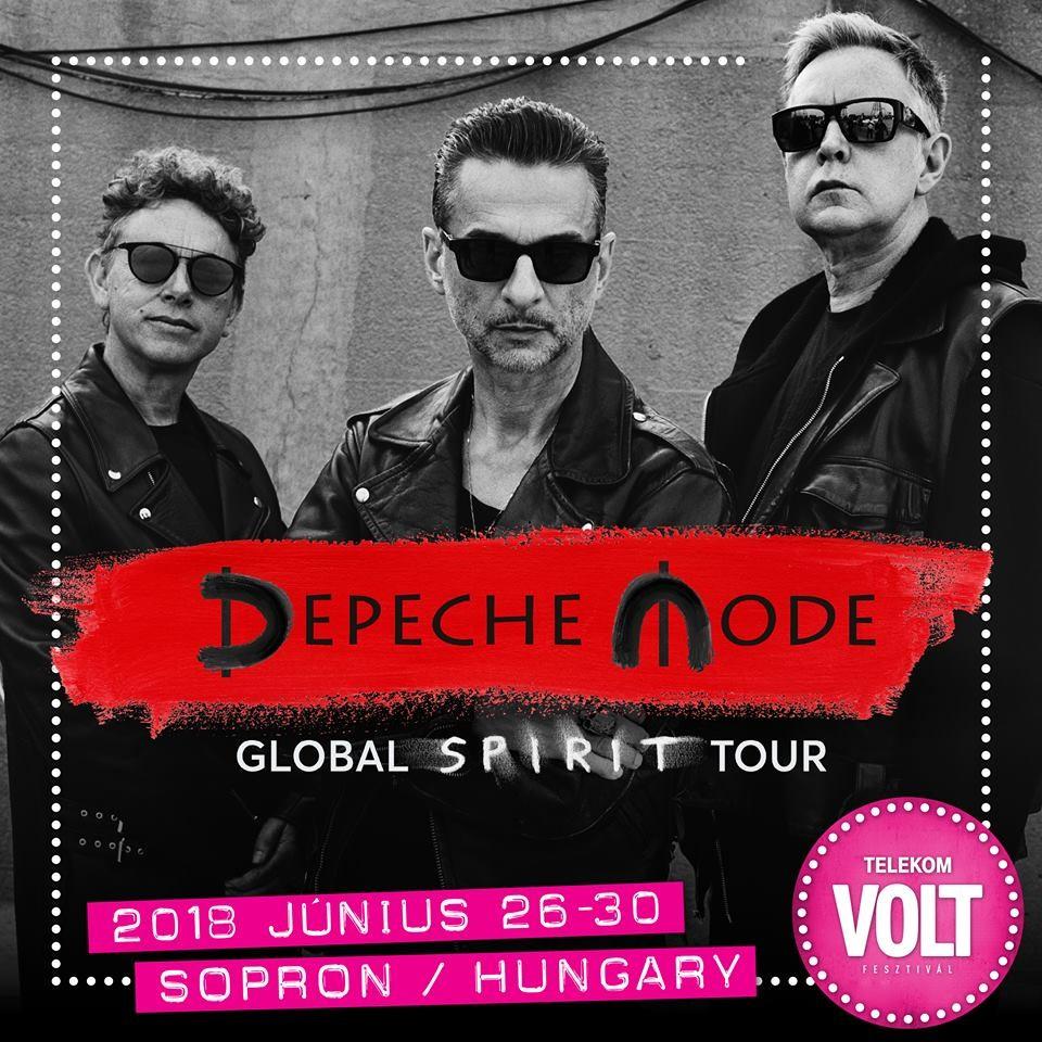 A Depeche Mode koncertjével kezdődik a 2018-as Volt Fesztivál