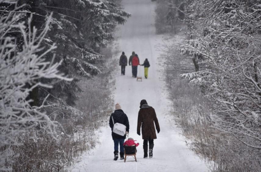Folytatódik a havazás, hófúvások és extrém hideg várható - mutatjuk hol