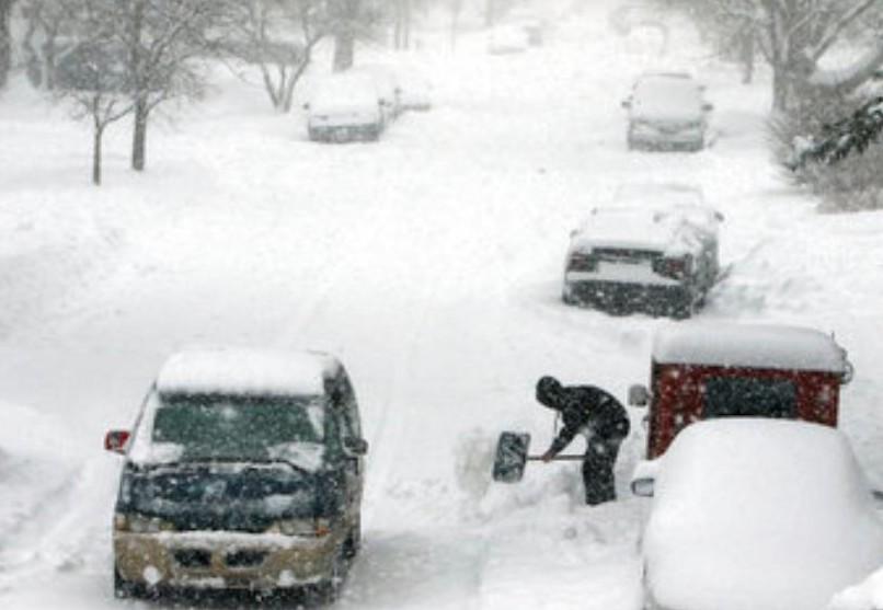 Riasztást adtak ki a hófúvás veszélye miatt