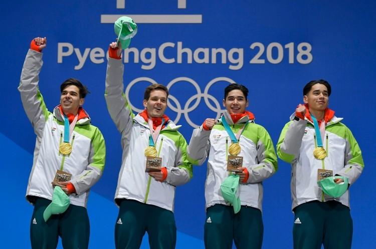 Téli olimpia, Phjongcshang 2018 - Így néz ki az éremtáblázat eddig