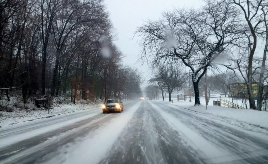 Figyelmeztetések: ónos eső, fagyott eső és havazás miatt
