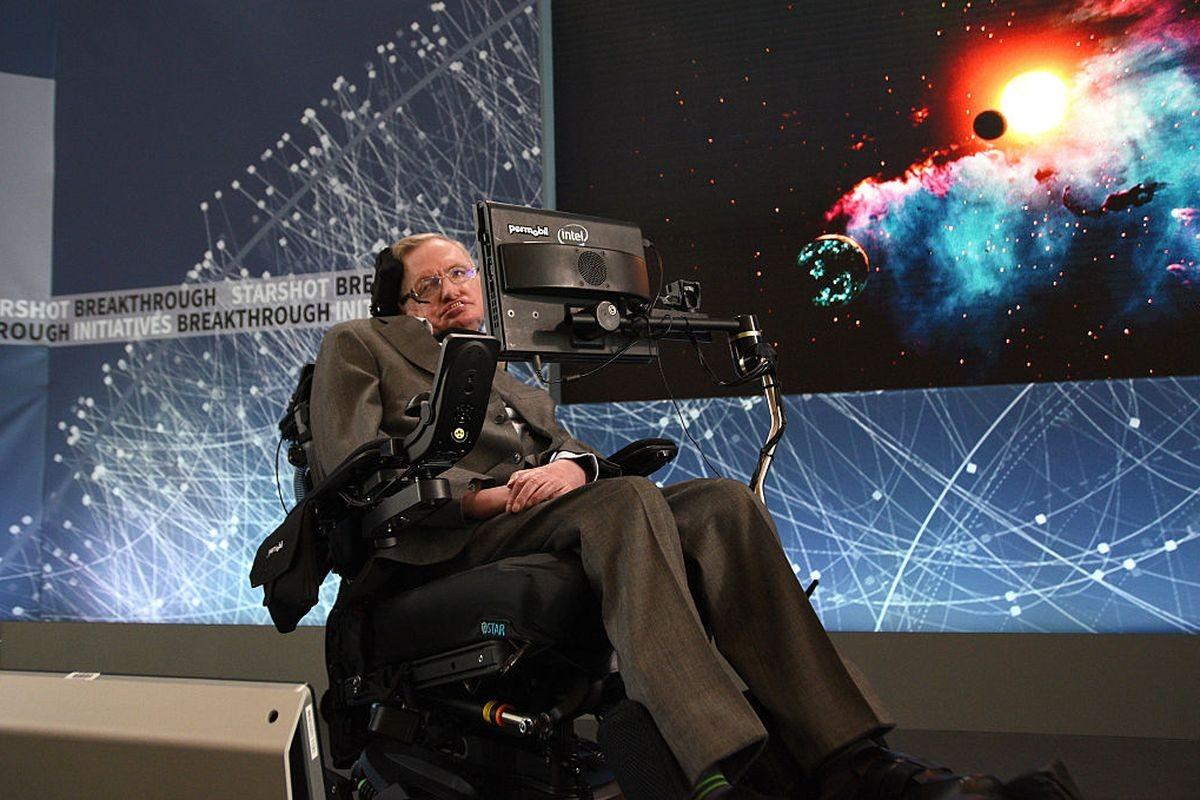 Meghalt Stephen Hawking