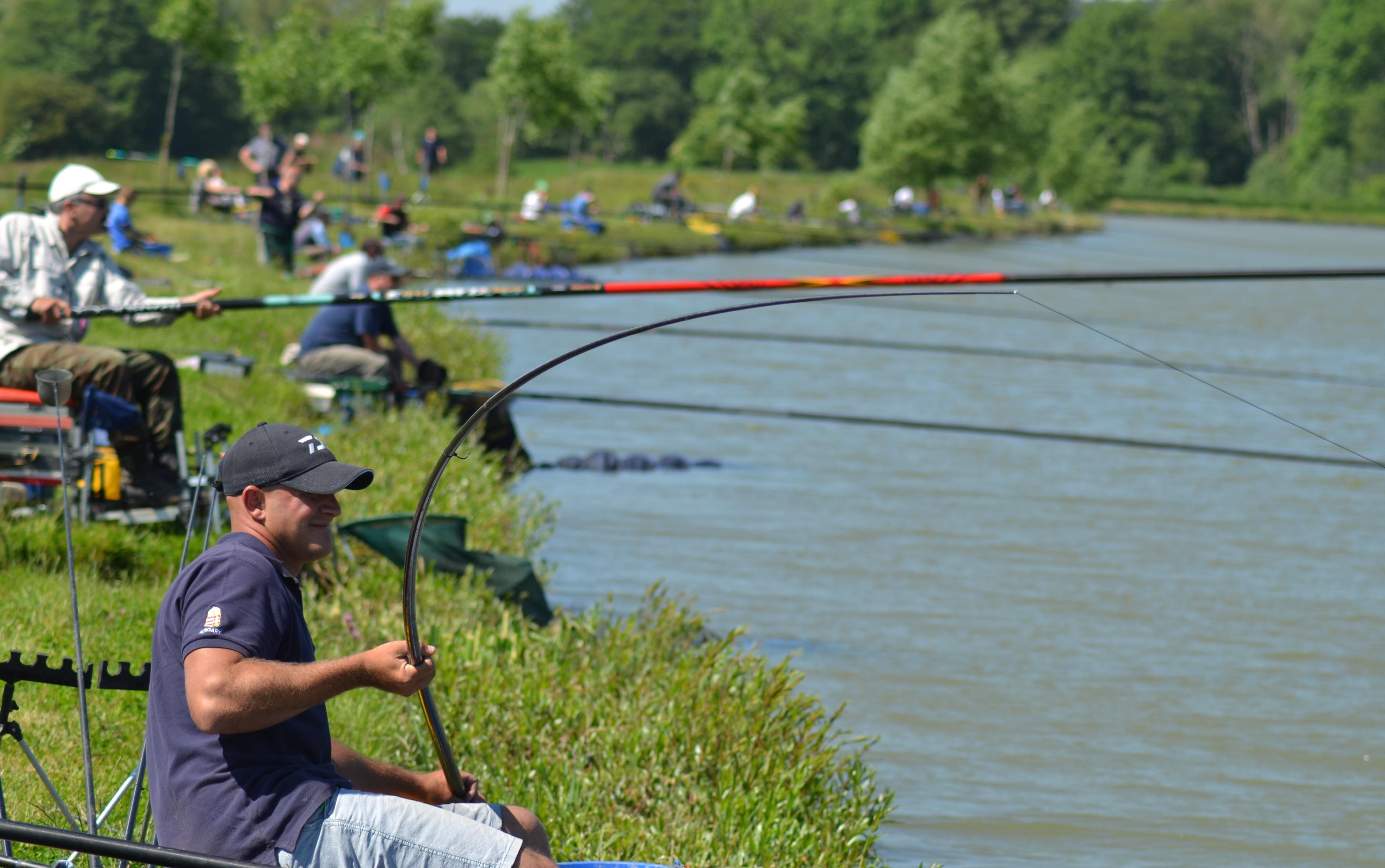 Áprilisban indulnak a horgászversenyek a vasi vizeken