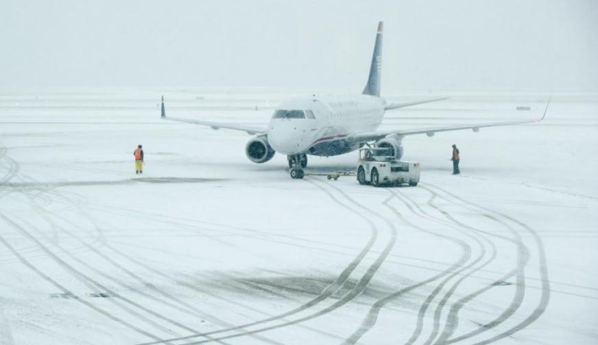 A havazás fennakadást okoz Nyugat-Európában is