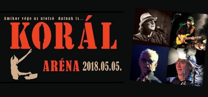 Korál 40: a legendás zenekar az Arénában ünnepel májusban