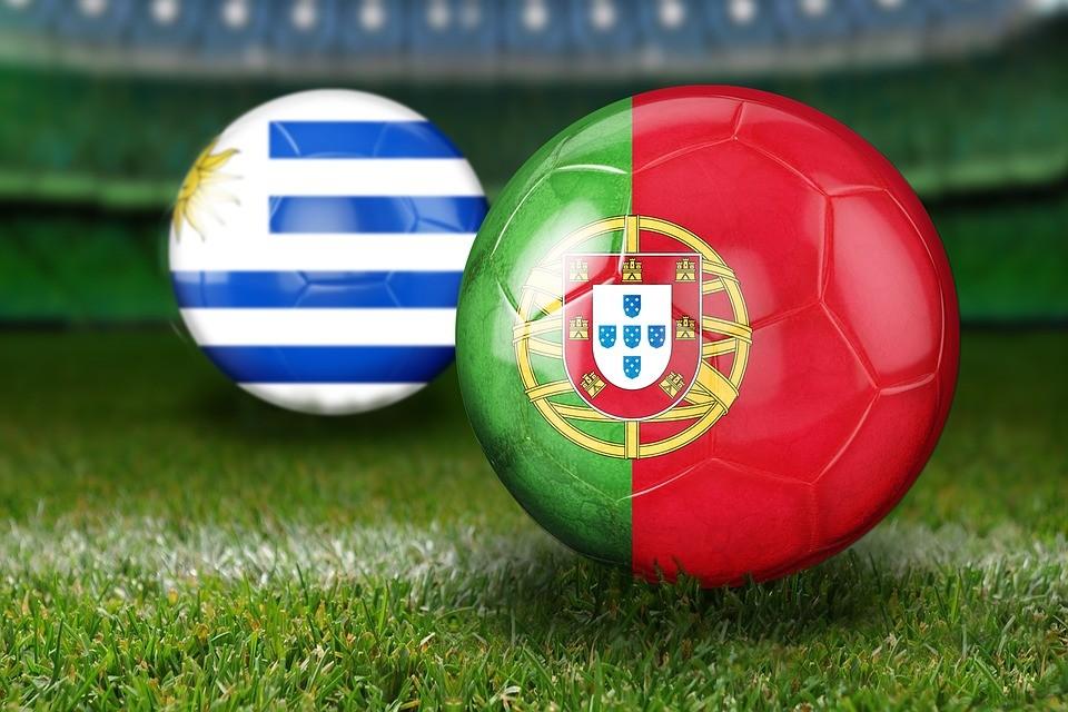 Labdarúgó-vb 2018 - Uruguay negyeddöntős, kiesett az Európa-bajnok
