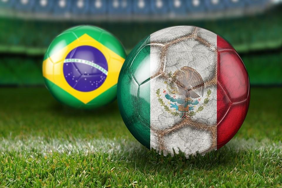 Labdarúgó-vb 2018 - Brazil győzelem, Mexikó búcsúzott