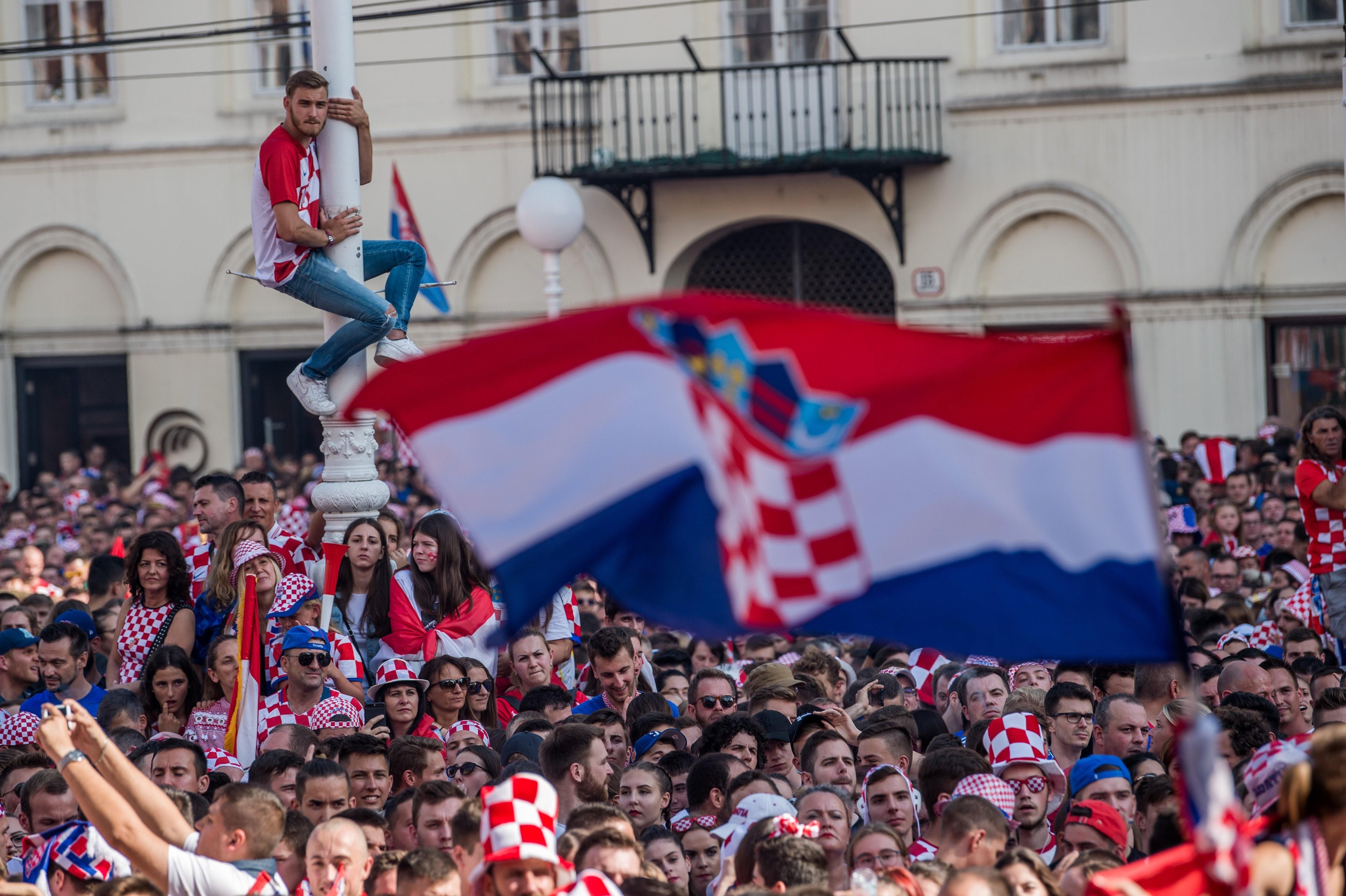 Így döntött a 7,7 milliárd forintnak megfelelő pénzjutalmáról a horvát foci-válogatott