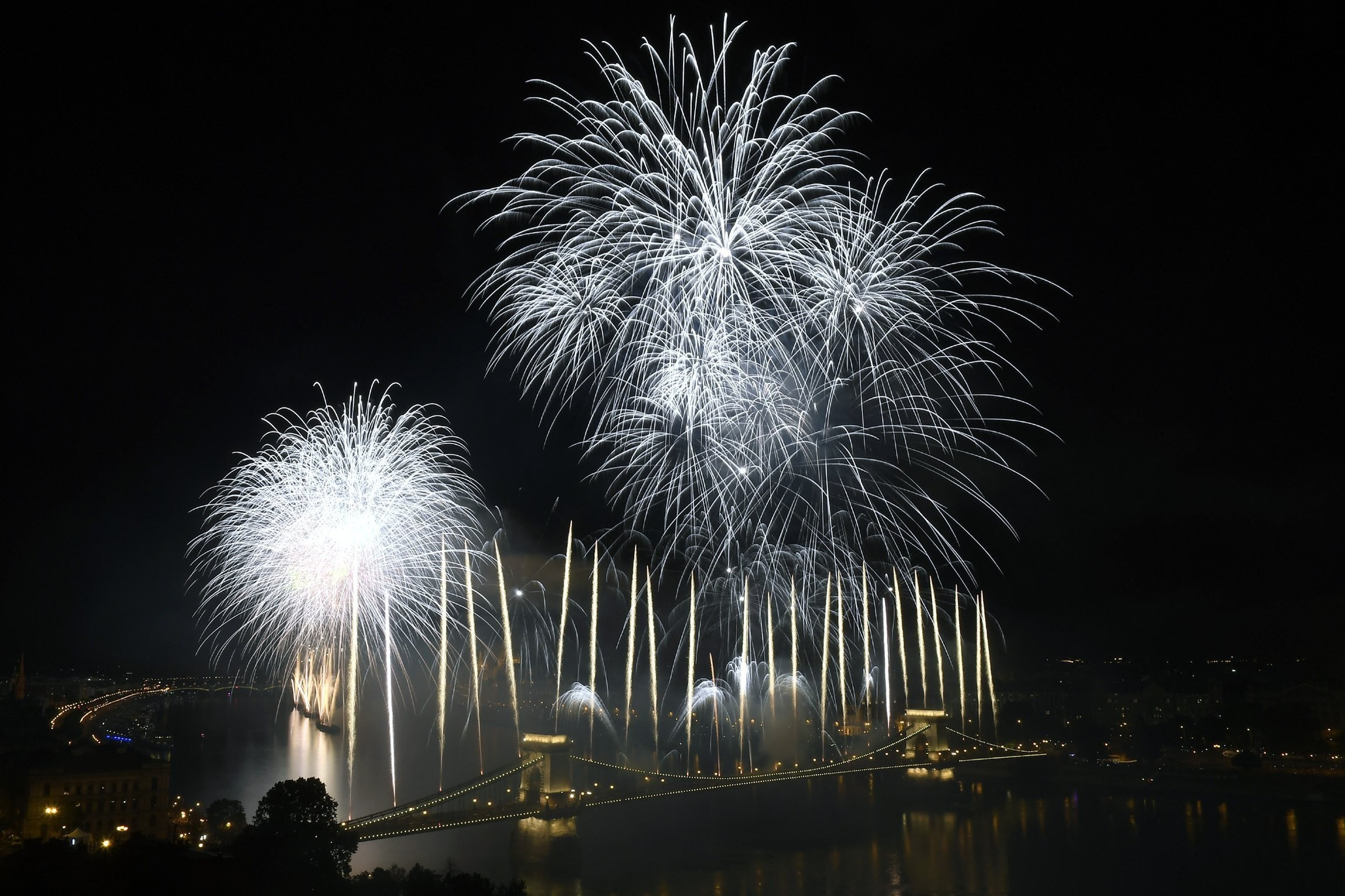 Augusztus 20. - Ünnepi tűzijáték Budapesten