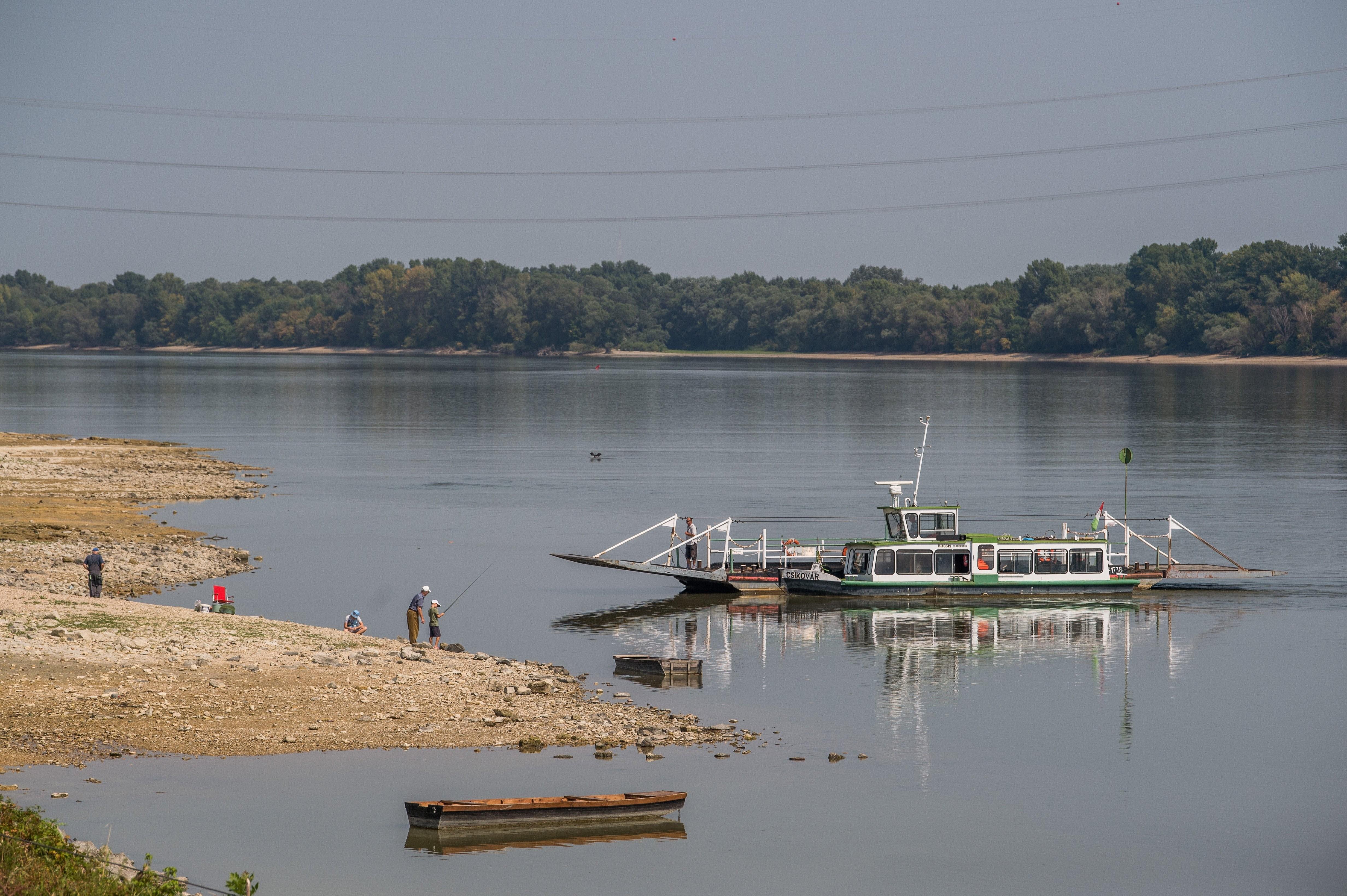 Soha nem volt ilyen alacsony a Duna vízszintje