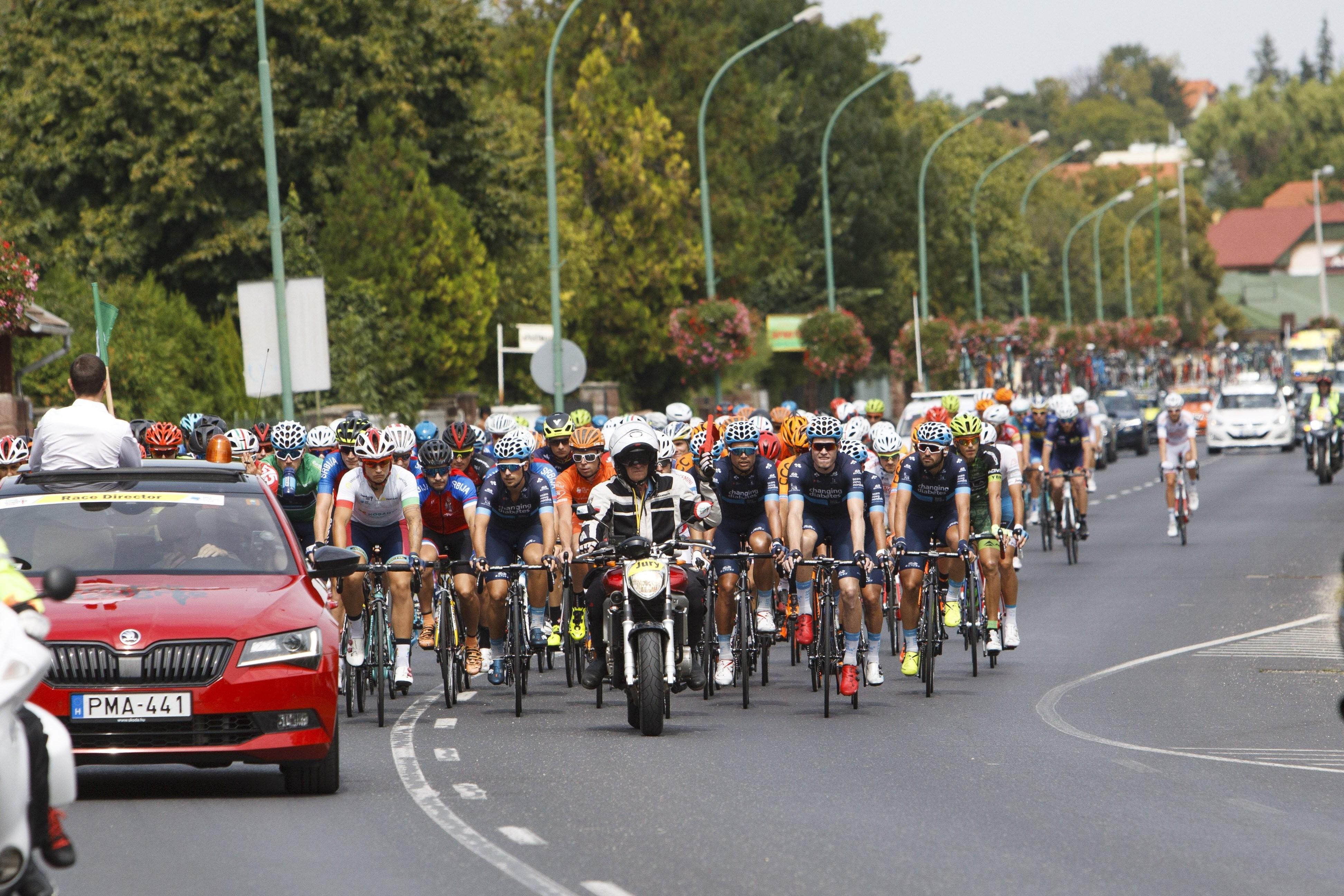 A Tour de Hongrie országúti kerékpáros körverseny első szakaszának eredménye