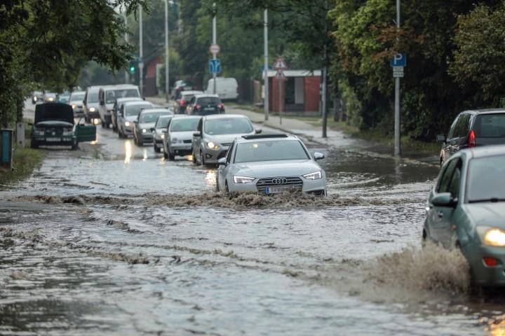 Nagy mennyiségű eső zúdult le a Dunántúlon öt nap alatt