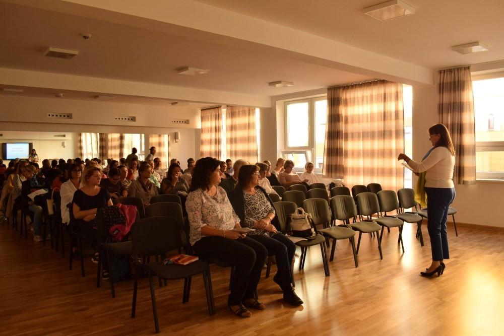Idegen nyelvi szakmai délután a Premontrei Gimnáziumban