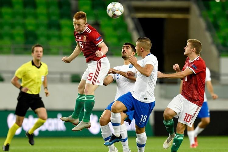Nemzetek Ligája - Magyar-görög - Idei első győzelmét aratta a válogatott