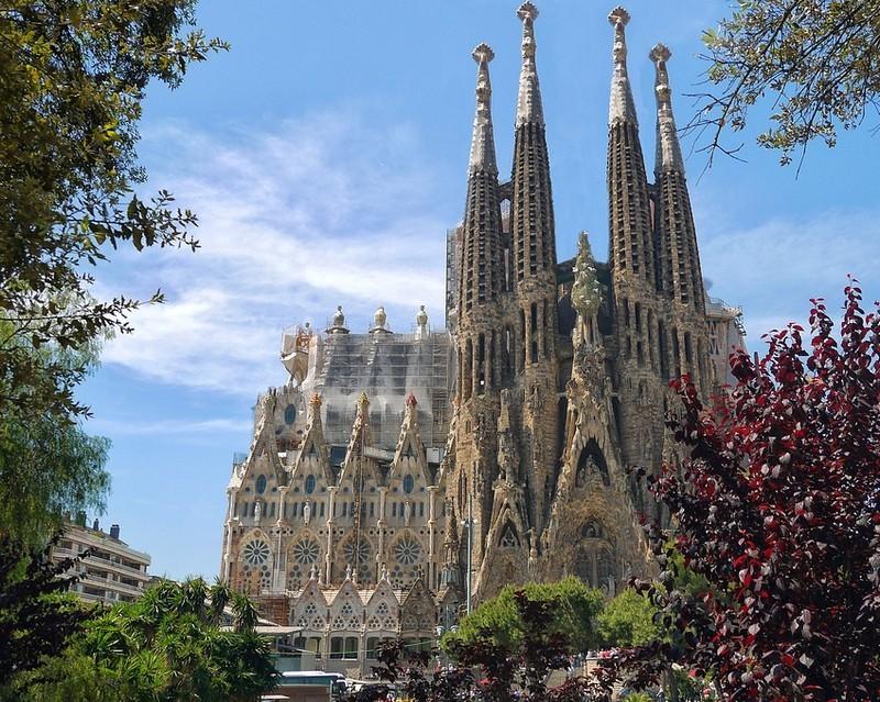 A Sagrada Família lesz Barcelona legmagasabb épülete négy év múlva