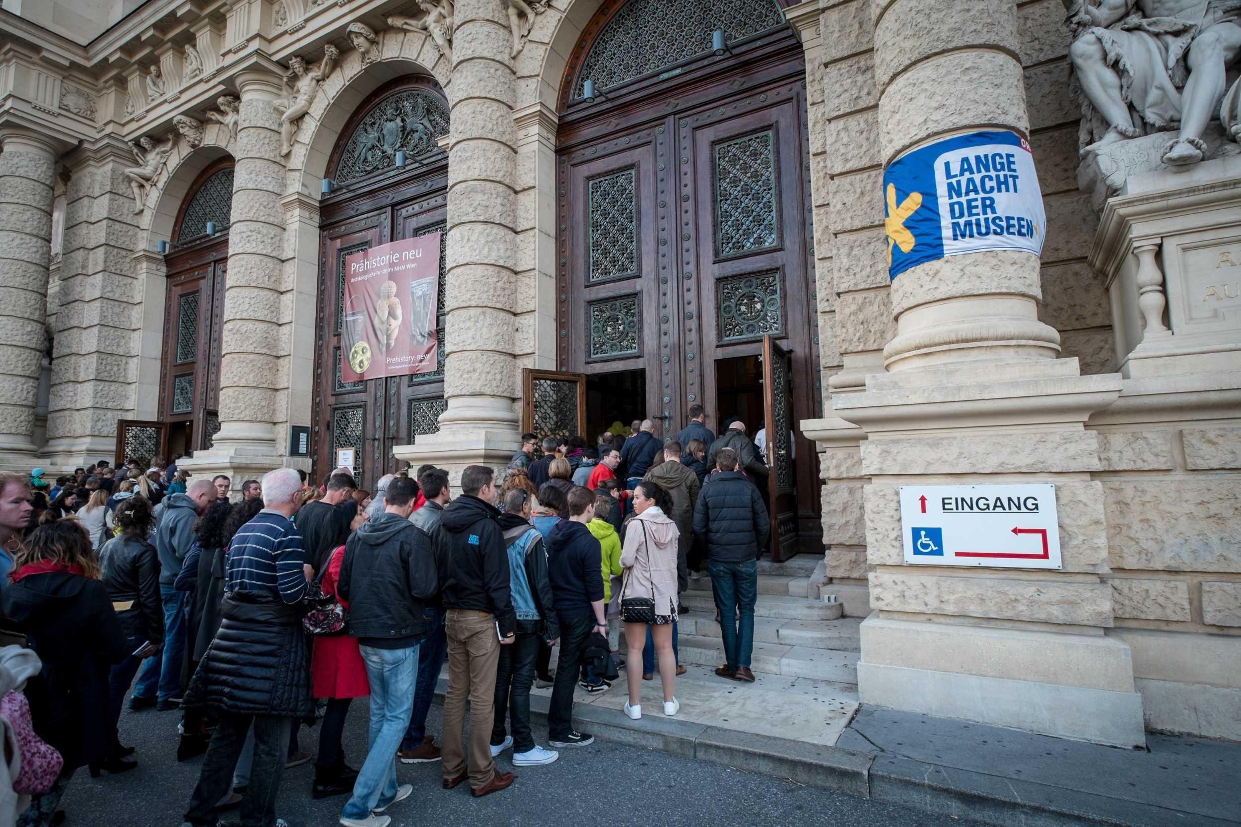 Múzeumok Hosszú Éjszakája Bécsben