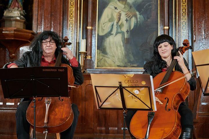 Cello Molto a szombathelyi Premontreiben