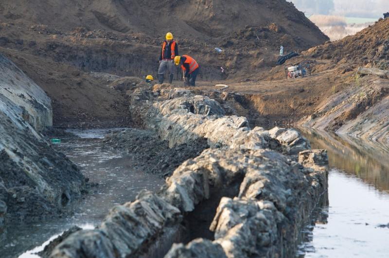 Római kori vízvezetéket találtak a régészek Vas megyében