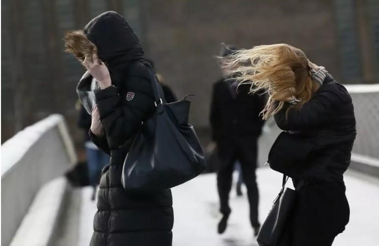 Időjárás-előrejelzés - Mutatjuk, hol várható viharos széllökés kedden