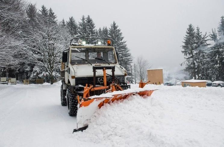 Csaknem 40 centiméteres hó esett a Kékestetőn
