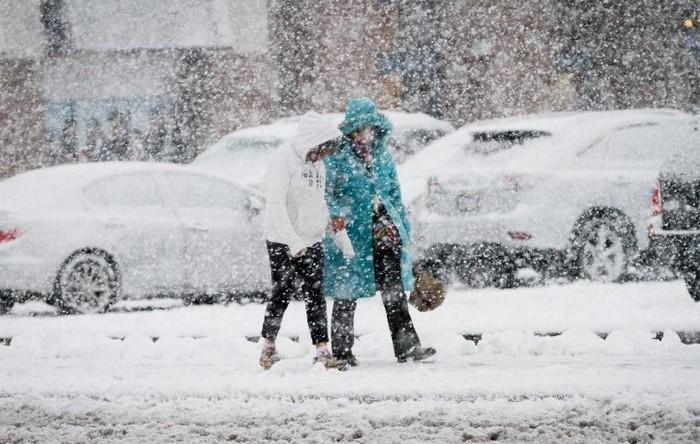 Időjárás-előrejelzés - Tíz megyére adtak ki figyelmeztetést; térképen is mutatjuk hol várható havazás