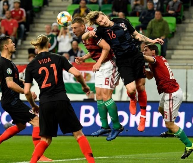 eedef15d83 Labdarúgás - A magyar válogatott 2-1-re nyert a horvát csapat ellen -  alon.hu