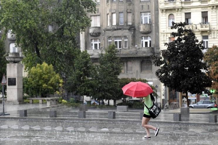 Zivatarveszély miatt figyelmeztetést adott ki az Országos Meteorológiai Szolgálat