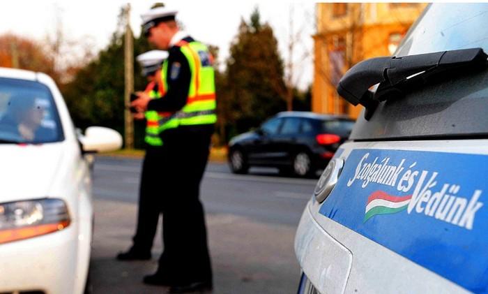 Négy megyében fokozott rendőrségi ellenőrzés kezdődik szombattól