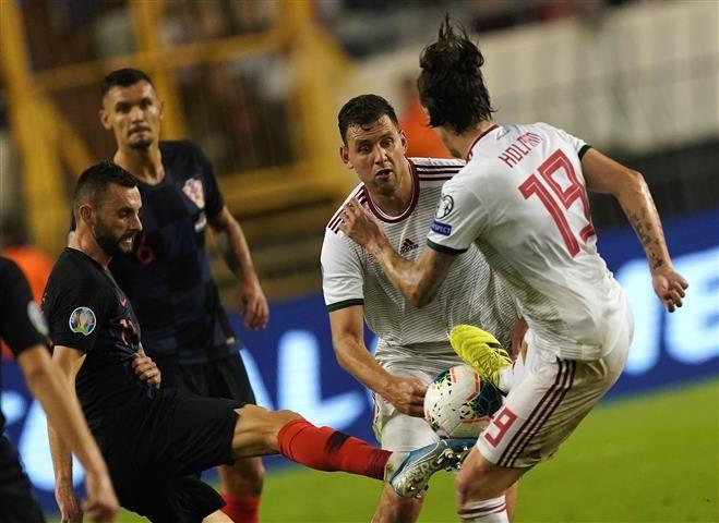A magyar labdarúgó-válogatott 3-0-ra kikapott a horvátoktól