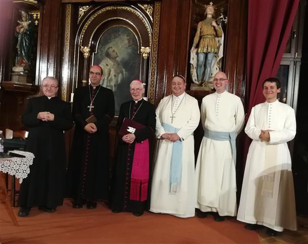 Magyarország apostoli nunciusa járt a szombathelyi Premontreiben