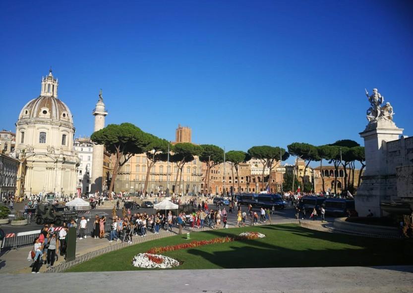 Pénteken megbénult az olasz főváros - Több közintézmény zárva maradt