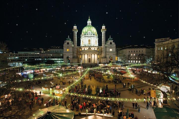 Itt a lista - Karácsonyi vásárok Bécsben